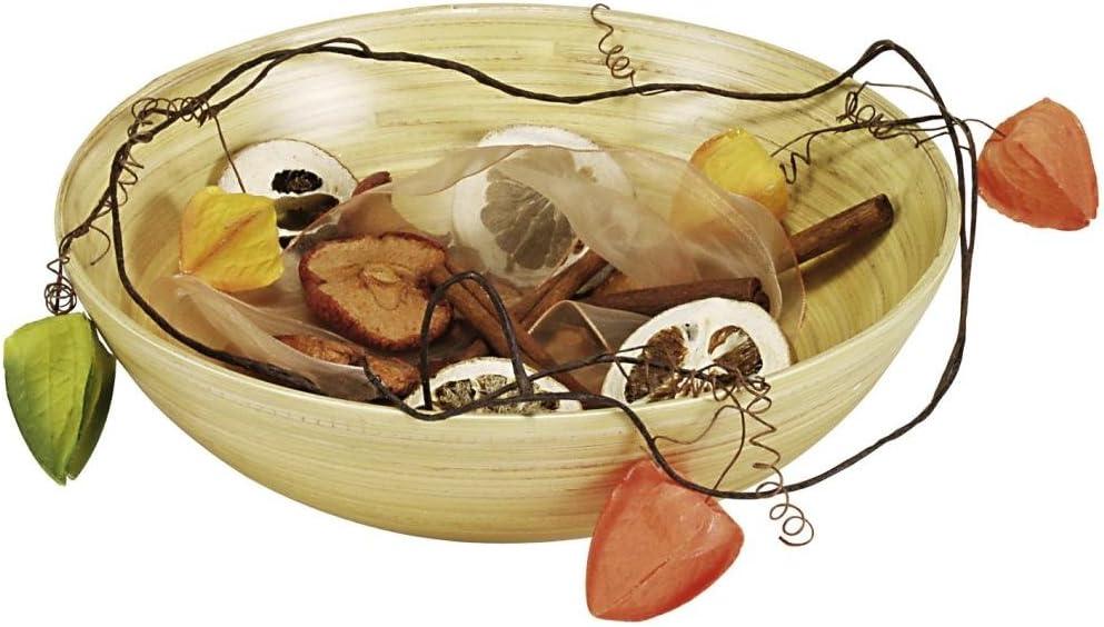 Diameter 250/mm/// Light Coloured Height 80/mm Pastries in Bamboo Wood Kesper Serving Bowl for Fruit