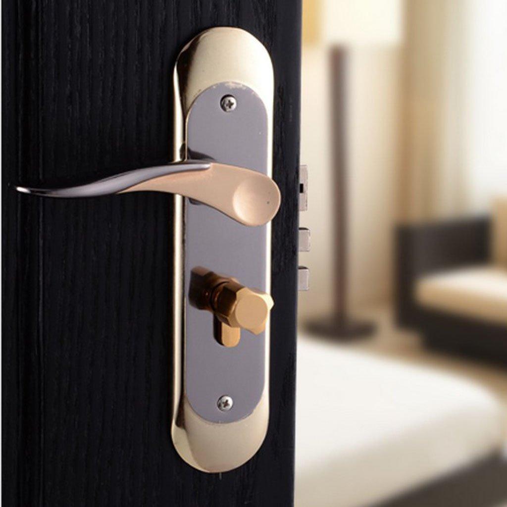 Baoblaze Aluminum Door Handle Sets Lever LATCH LOCK BEDROOM BATHROOMPRIVACY PACKS #5 by Baoblaze (Image #8)