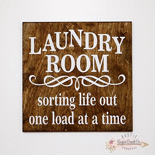 Laundry Room   Sorting Life Out One Load At A Time Sign, Laundry Room Sign