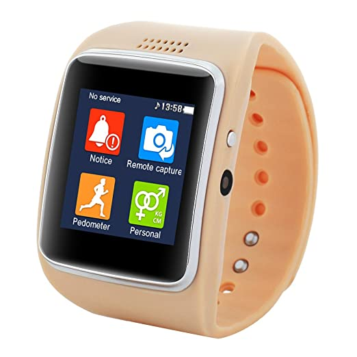 Aiwatch reloj inteligente con la cámara Z30 FM Video Bluetooth Fitness TF sincronización SIM para IOS y Android: Amazon.es: Deportes y aire libre