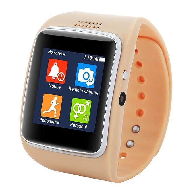 Aiwatch reloj inteligente con la cámara Z30 FM Video Bluetooth Fitness TF sincronización SIM para IOS