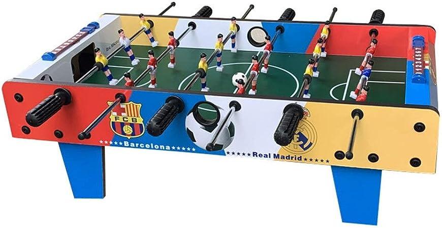 Lpinvin TO Futbolines Futbolín Mesa de Juego de fútbol for Adultos y niños Mini portátil de Mano de recreo de fútbol Mesa de futbolín Competencia Juegos de Mesa futbolines para niños: Amazon.es: