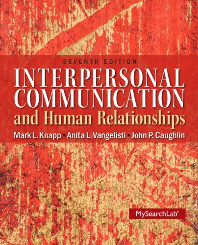 Interpers.Commun.+Human Relationships