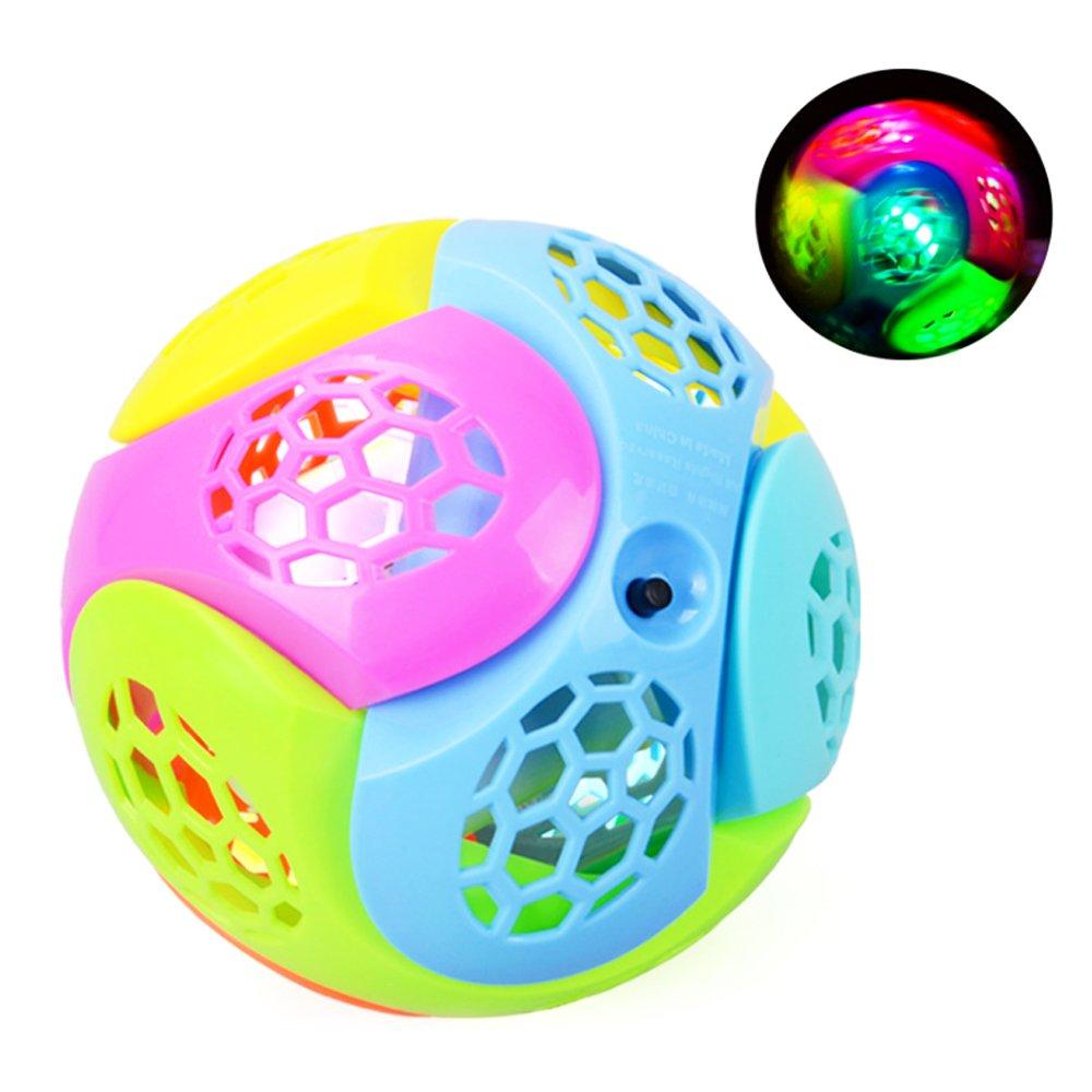 Newin Star Bälle für Babys, LED-Leuchten, Plastik Bouncing Fusion Jumper, Spielzeug für Kinder und Babys