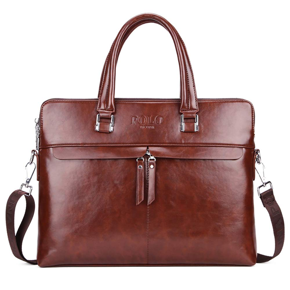 AHDA Herrentaschen, Aktentaschen, Messenger-Bags, Handtaschen, Laptop-Taschen Black 39cm*30cm*7cm
