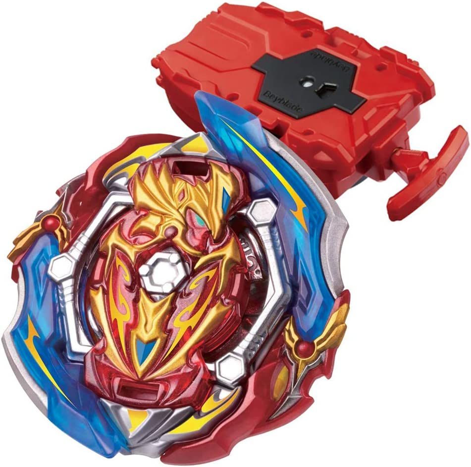 Intense Beyblades Stater Set with B-108 Bey String Launcher Red High Performance Battling Tops Beyblade Burst GT Burst Booster B-150 Union Achilles Cn.Xt 烈