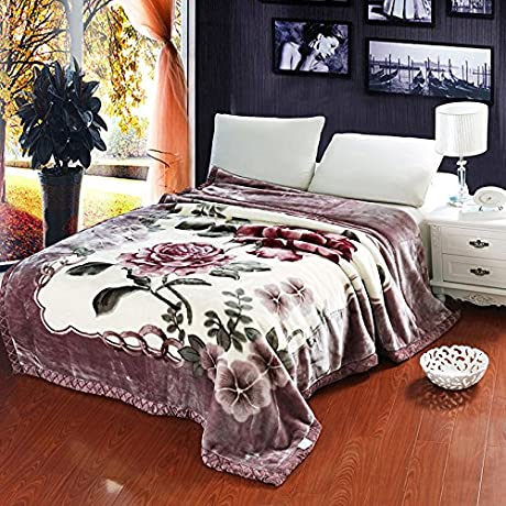 Znzbzt Autumn And Winter Thick Warm Blanket Blanket Blanket Comfortable All Seasons Available Winter Coral Fleece Blanket 150x200cm5 Catty Down Fischer And Jy Spend On Wealth
