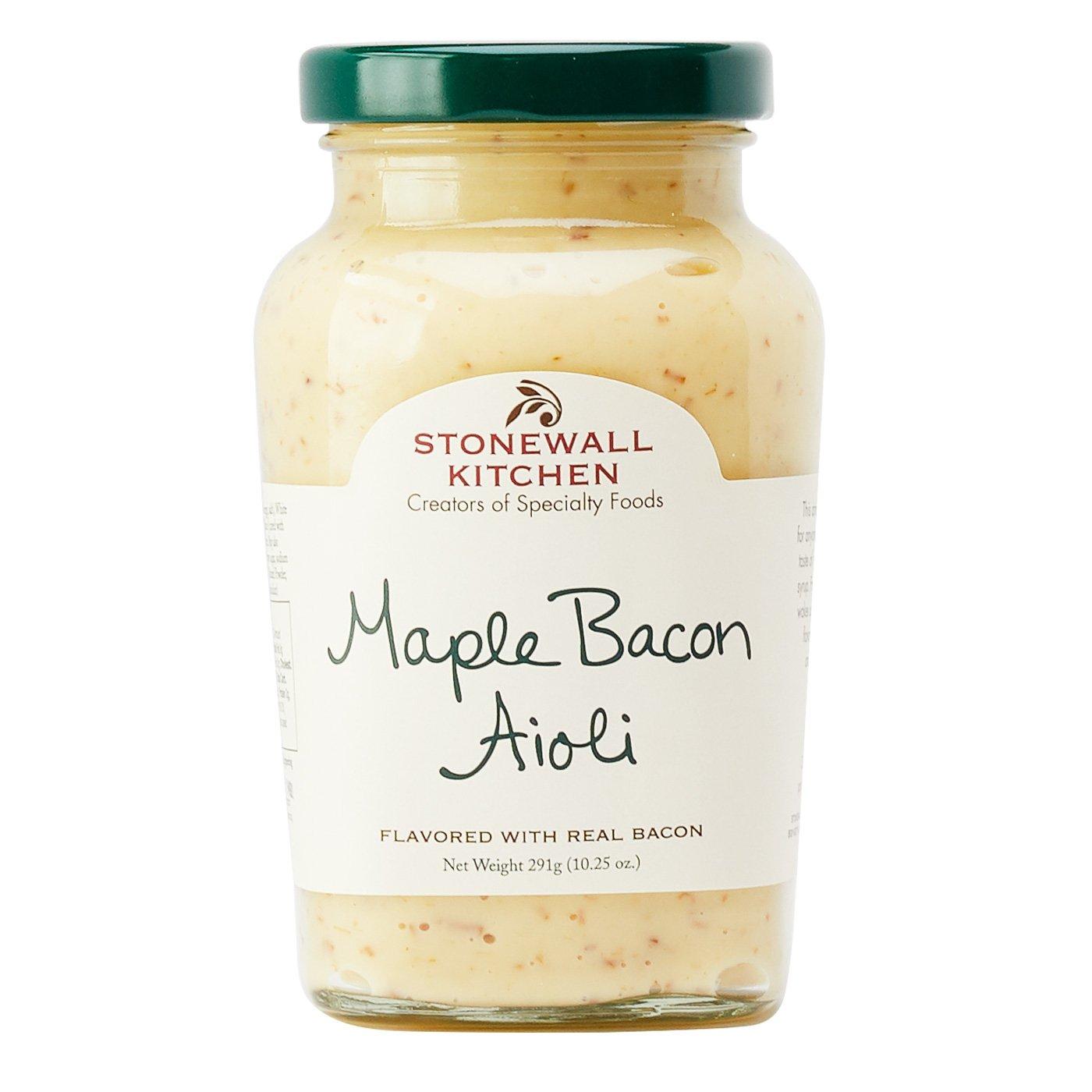 Stonewall Kitchen Aioli - Maple Bacon - 10.25 oz