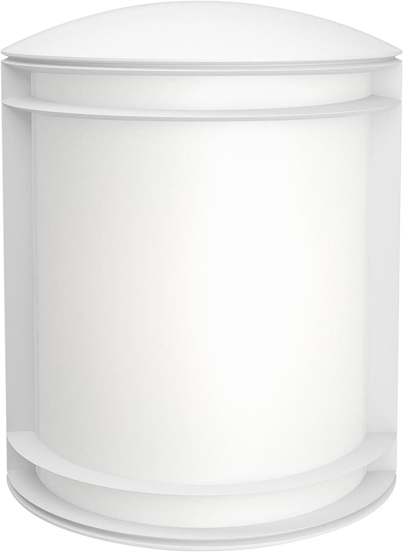 Philips myGarden Aplique 1732031P3 - Lámpara 6 W, 220-240 V (Cepillado, Jardín, Patio, Exterior, Sintético, IP44), color blanco