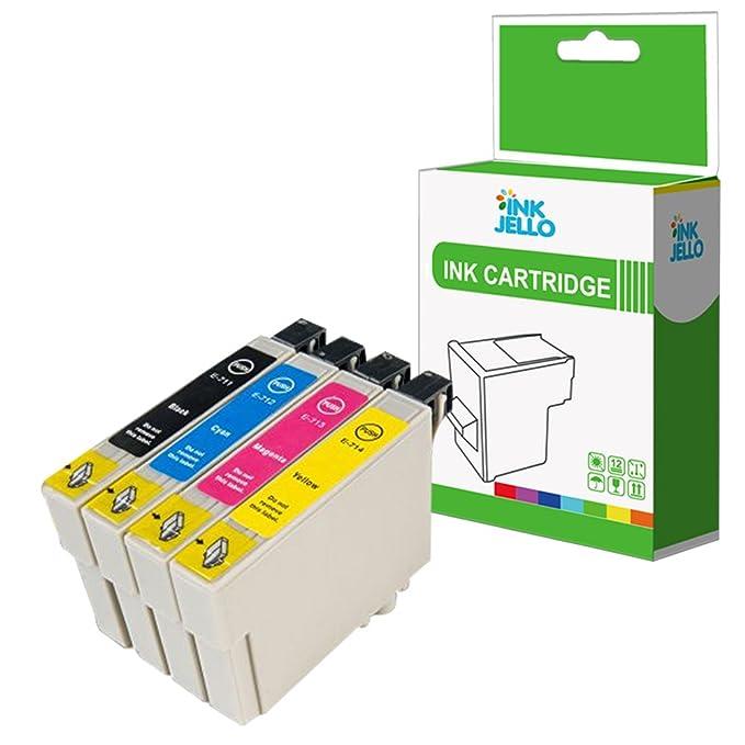 InkJello - Cartucho de Tinta Compatible para Epson Stylus CX4300 ...
