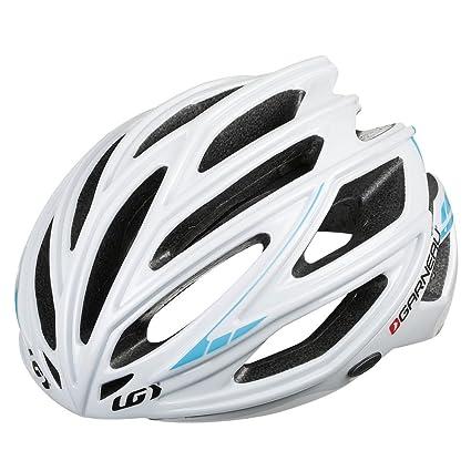Louis Garneau Sharp Helmet White/Blue-Small
