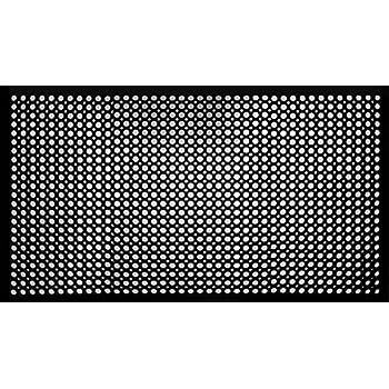 Shepherd Hardware 8103E Indoor/Outdoor Recycled Rubber 36 x 60 x 1/2 Inches, Black Floor Mat