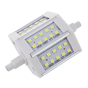 TOOGOO(R) R7S 15W 30 SMD 78Mm 2835 SMD LED Bombilla luz Dimmable Blanco