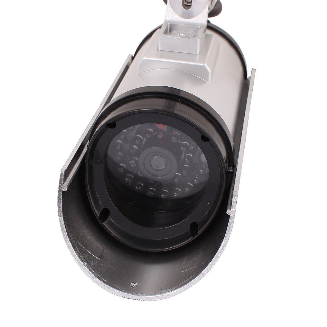 Amazon.com: eDealMax Vigilancia Seguridad falso muñeco Cámara luz roja parpadeante Interior al aire Libre: Electronics