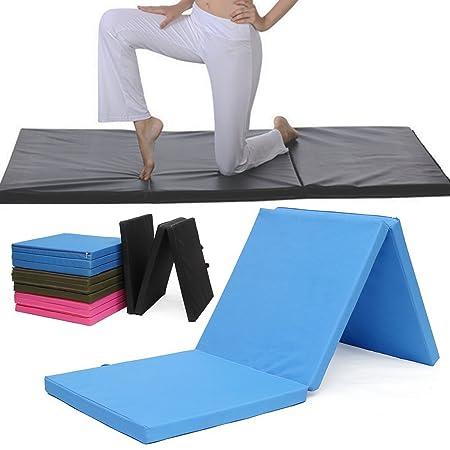 Estera de Yoga, Plegable de Tres Secciones de Yoga Mat ...