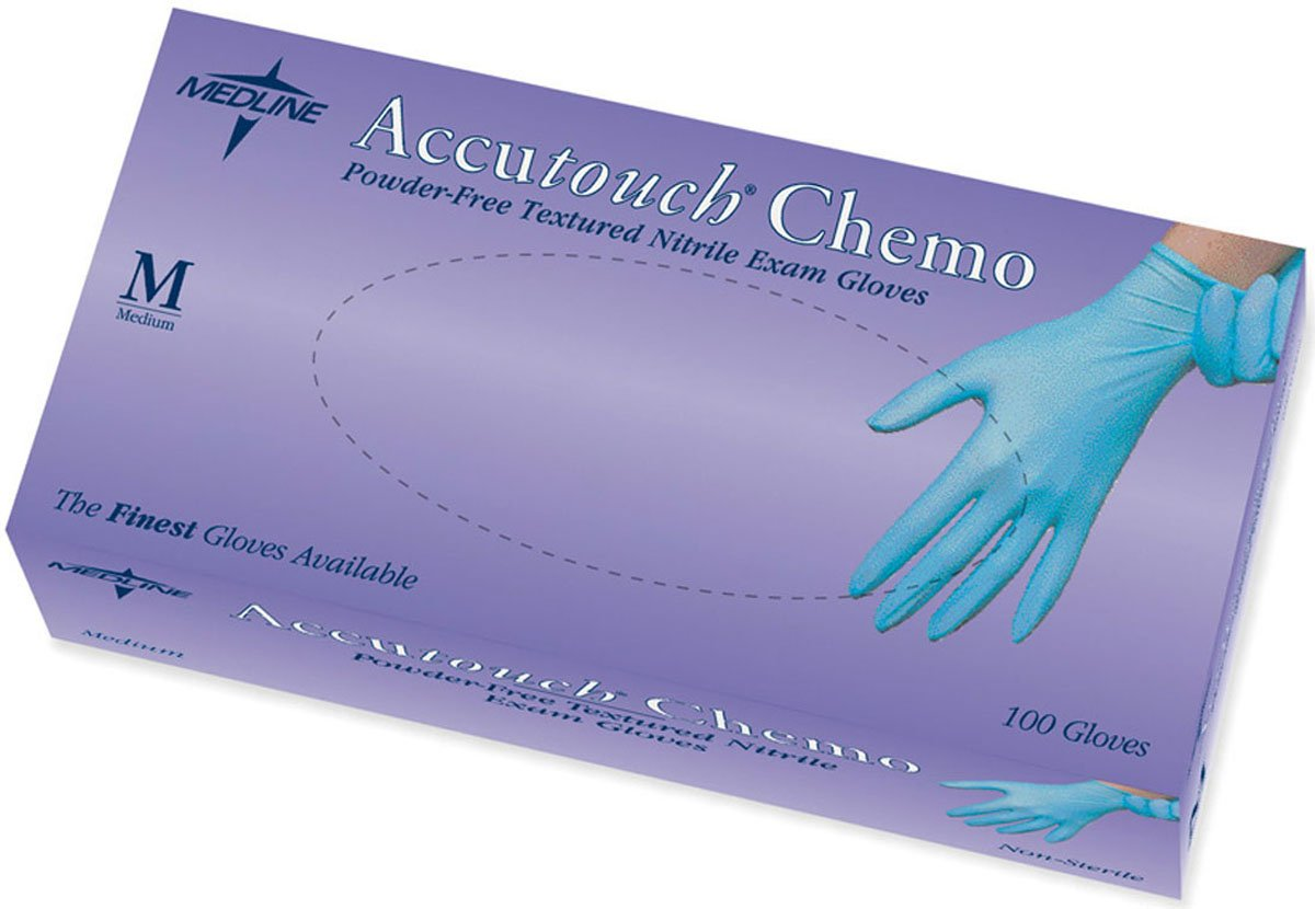 Medline MDS192085 Accutouch Chemo Nitrile Exam