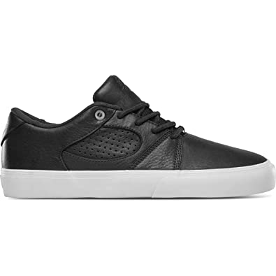 8f7b44fab4 eS Men's Square Three Skate Shoe, Black White, 8.0 Medium US