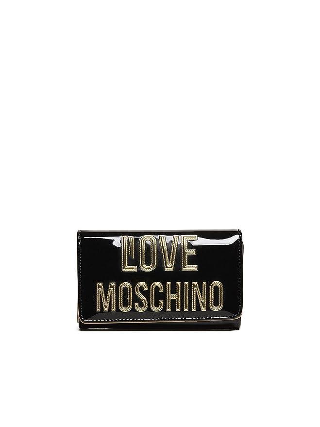 Love Moschino Love Moschino Gold Monedero des mujeres negro ...