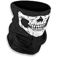 Lumanuby Máscara de calavera sin costuras para Halloween