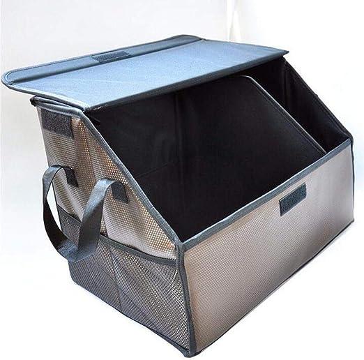 Axiba Cajas de almacenaje Cuero Auto Almacenamiento Caja Tronco ...