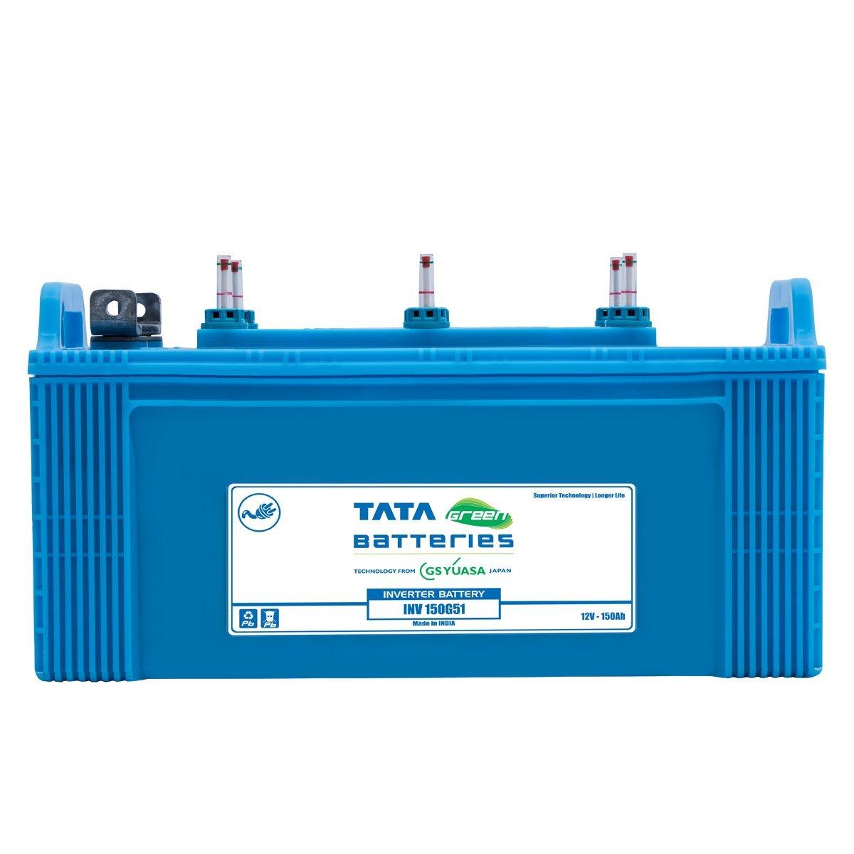 Tata Green Batteries 1419511186 INV-150G51 12V 150Ah