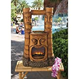 Tiki Gods of Fire and Water Statue Sculpture Fountain