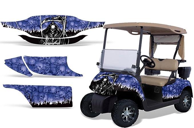 Amazon com: 1996-2010 EZGO Golf Cart AMRRACING ATV Graphics Decal