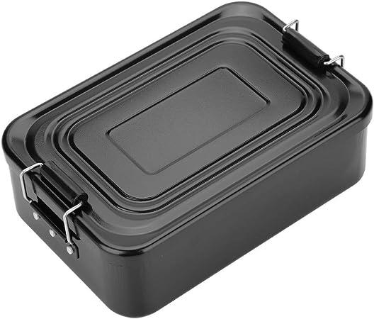 Boîte à Lunch en Aluminium Rangement de Nourriture Pour Camping