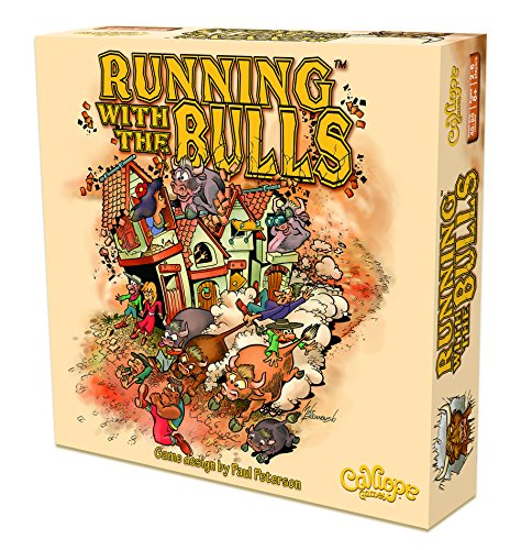 Bull Running Adult (Calliope Running with The Bulls Board Game)