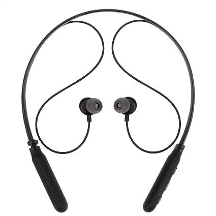 Auriculares Bluetooth, Alfort Auriculares Inalámbricos Bluetooth Inálambrico Deportivos Con Magnética Atracción Llamadas de Manos Libres