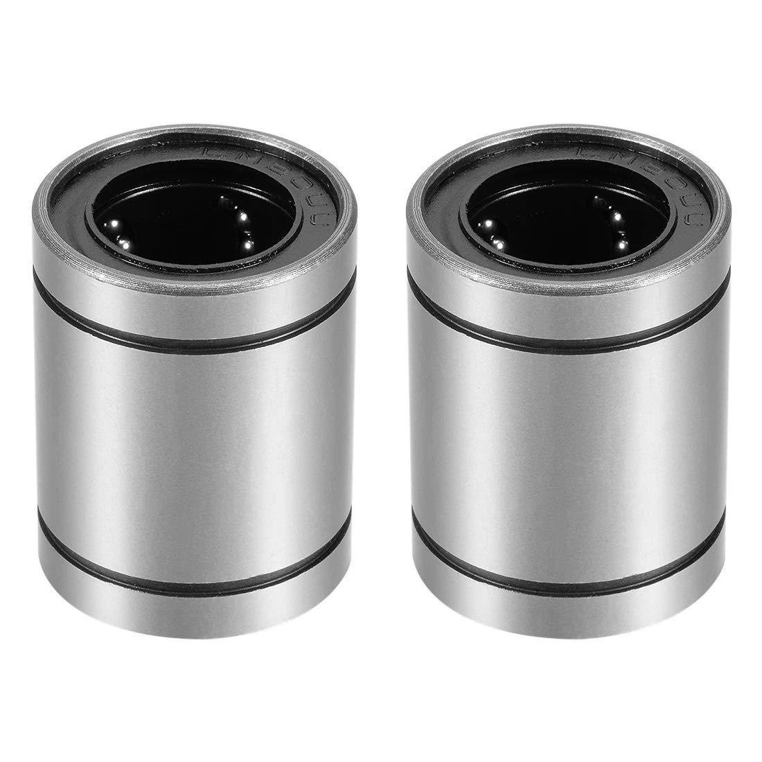 4 CNC linear slide guide Cylinder shaft 20mm rod LM20UU ball bearing bushing