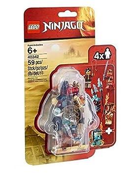 Ninjago Lego 59 Parts Exclusive Minifiguren - 4 Figurines ...