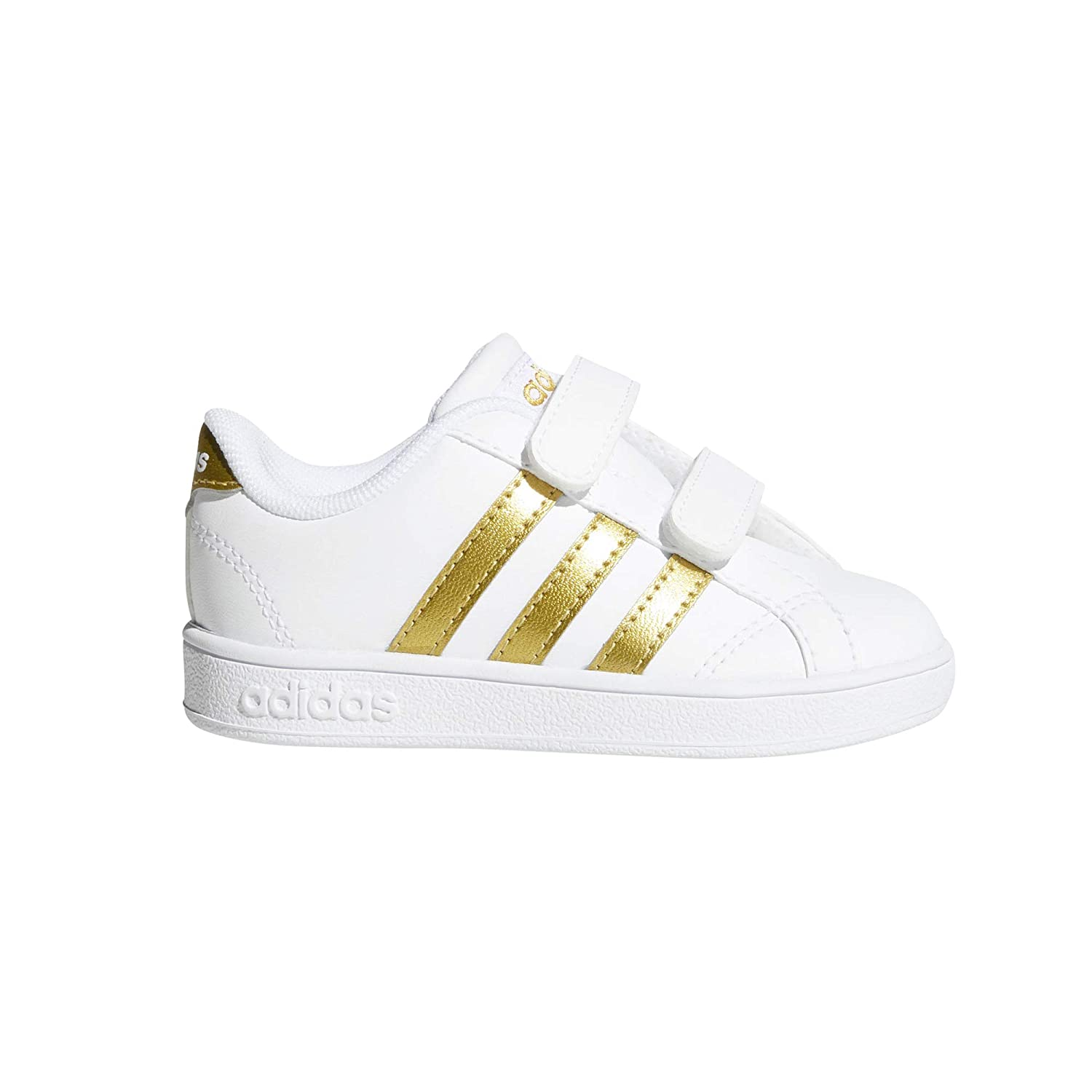 adidas Unisex-Kinder Vs Advantage Clean CMF Inf Fitnessschuhe