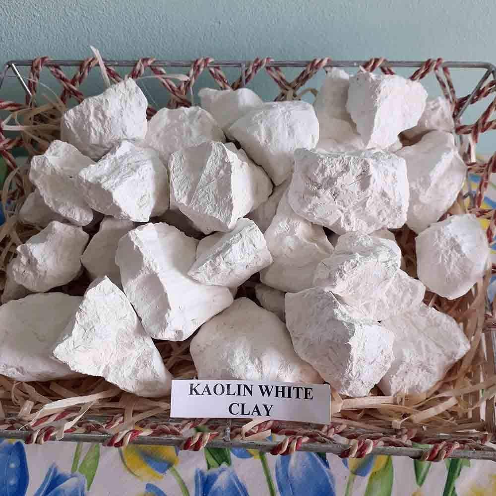 Kaolin trozos de arcilla comestibles naturales para comer (8 oz)
