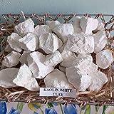 White Kaolin Edible Clay, (4 Oz) Chunks Natural for Eating