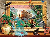 Ceaco Coming to Life - Noah's Arc Framed Puzzle (1000 Piece)