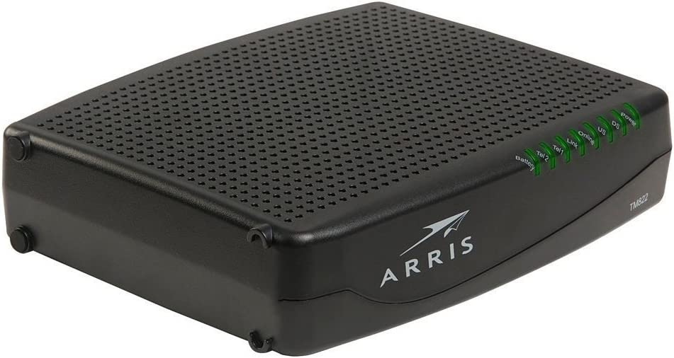 Arris TM822 (Series - TM822A) Touchstone Docsis 3.0 8x4 Ultra-High Speed Telephony Modem (Renewed)