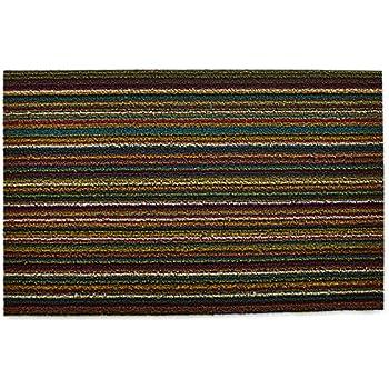 Amazon.com: Chilewich Shag Indoor/Outdoor Doormat Bright Multi 18 ...