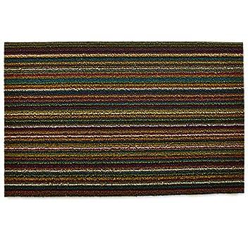 Charmant Chilewich Shag Indoor/Outdoor Doormat Bright Multi 18u0026quot; X 28u0026quot;  (Horizontal Stripes