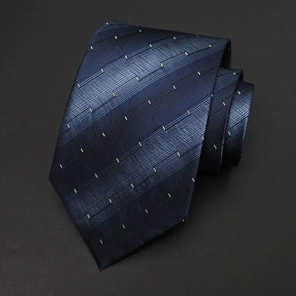 Amazon.com : WYJW MenTie Traje de seda 100% Boda de negocios ...