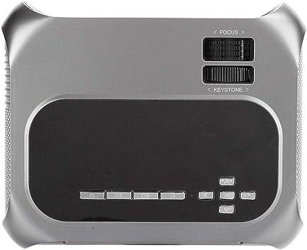Opinión sobre Proyector portátil 40 '' - 200 '' Proyección 110-240V Proyector LCD para el hogar(European regulations)