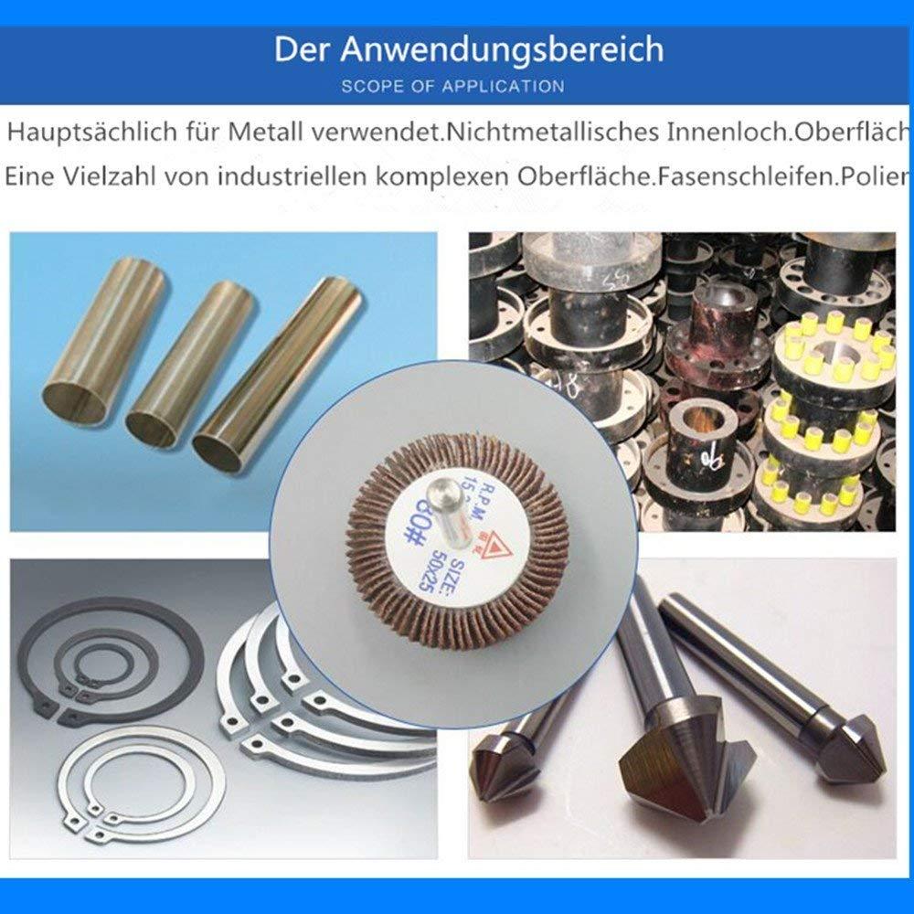 60# 80X25X6 Rotary Flap Wheel Sander