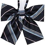 Tremour Girl's Japan School Student Sailor Suit Bowknot Adjustable Ribbon