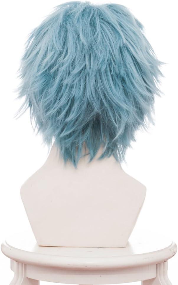 Karnestore Hero Academia Tomura Shigaraki Cosplay Wig Parrucca Verde Chiaro