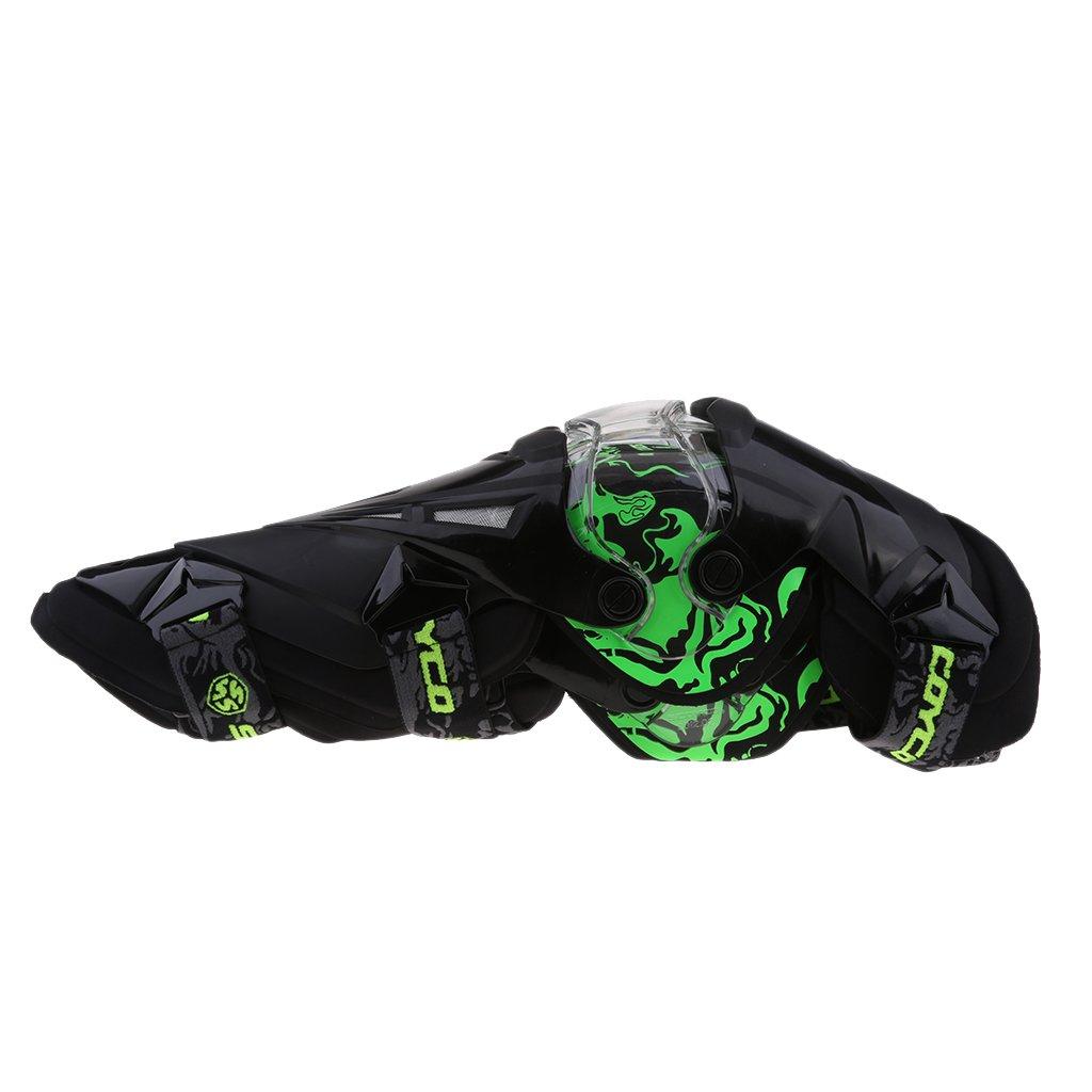 Wei/ß Motocross Sharplace 1 Paar Motorrad-Kniesch/ützer R/üstung Kniesch/ützer-Schutzausr/üstung F/ür Motorrad Fahren Radfahren