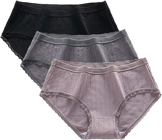 Mujer Bragas Pantalones Cortos de Moda Ropa Interior de Algodón Color Sólido Seamless Girl Panty: Amazon.es: Ropa y accesorios