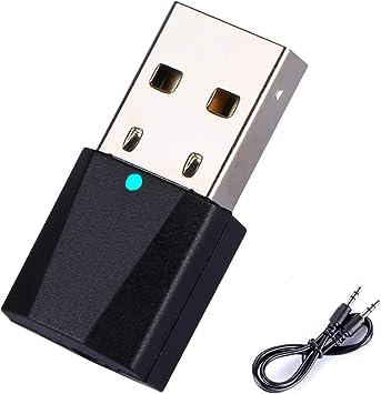 Yizhet Transmisor Bluetooth USB 4.2 Adaptador Bluetooth Transmisor, Emisor Bluetooth Inalambricos de Audio de para TV, PC, Tablet, MP3, DVD, etc: Amazon.es: Electrónica