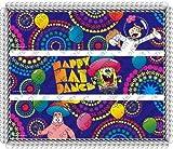 Spongebob Happy Dance Designer Prints ~ Edible Image Icing Cake Topper ~ New!!!