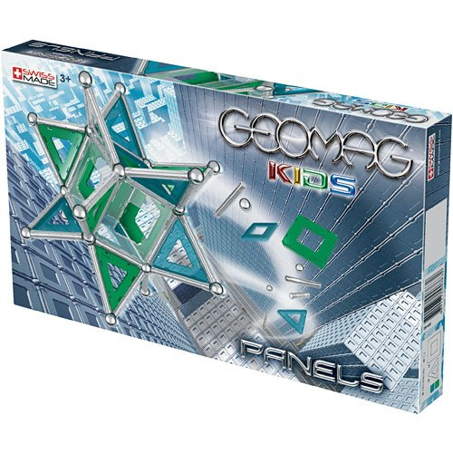 Geomag Panels Kit – 114 Piece Magnetic Construction Set