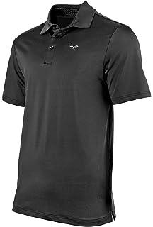 ab13cb88 Urban Fox Golf Shirts for Men - Short Sleeve Performance Polo Shirts for  Men | Heather